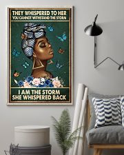 Afro Queen 11x17 Poster lifestyle-poster-1
