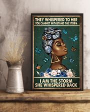 Afro Queen 11x17 Poster lifestyle-poster-3