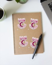Autism Awareness Puzzle Sticker - 4 pack (Vertical) aos-sticker-4-pack-vertical-lifestyle-front-29