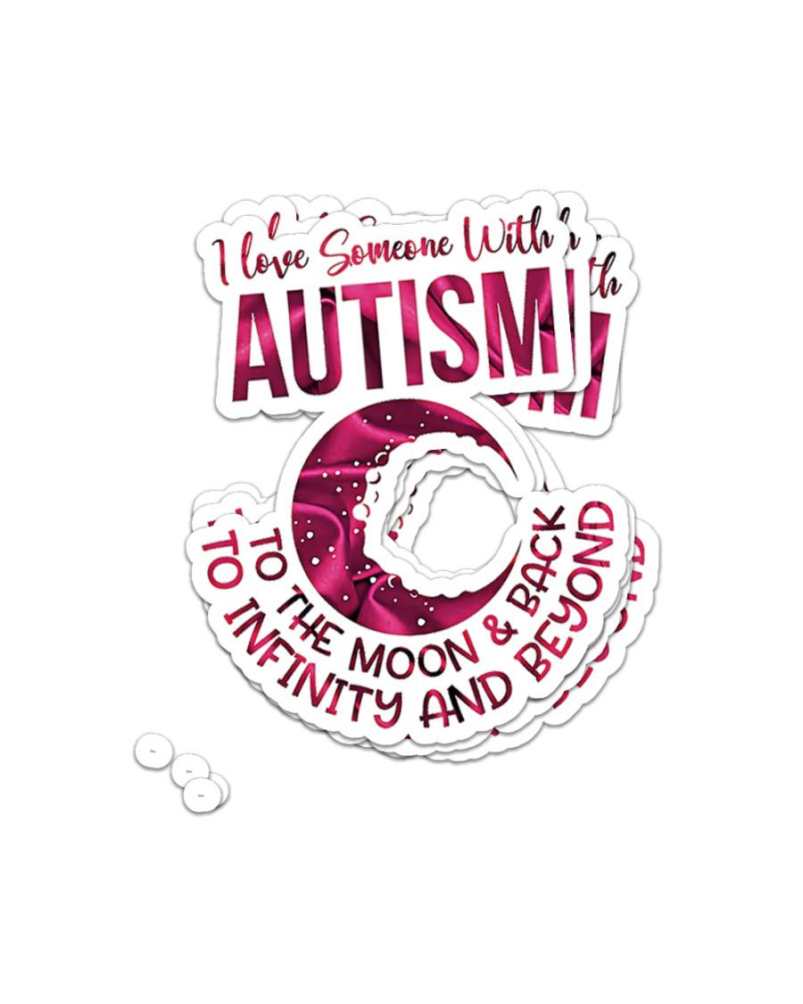 Autism Awareness Puzzle Sticker - 4 pack (Vertical)