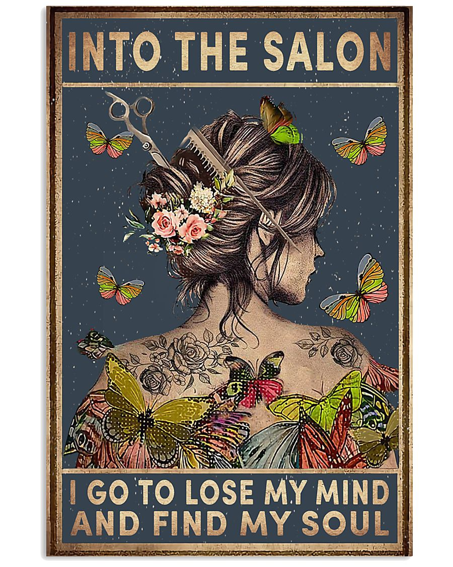 Into The Salon 11x17 Poster