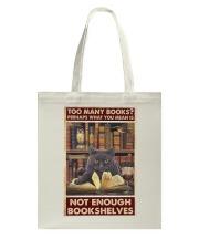 Too Many Books Tote Bag thumbnail