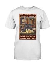 Too Many Books Classic T-Shirt thumbnail