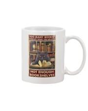 Too Many Books Mug thumbnail