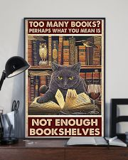 Too Many Books 11x17 Poster lifestyle-poster-2