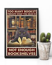 Too Many Books 11x17 Poster lifestyle-poster-8