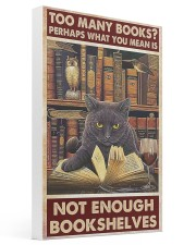 Too Many Books 16x24 Gallery Wrapped Canvas Prints thumbnail