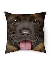 """Cute Dog Indoor Pillow - 16"""" x 16"""" thumbnail"""