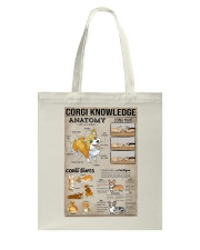 Corgi Knowledge Tote Bag thumbnail