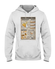 Corgi Knowledge Hooded Sweatshirt thumbnail