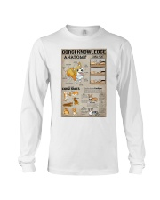 Corgi Knowledge Long Sleeve Tee thumbnail