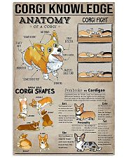 Corgi Knowledge 11x17 Poster front