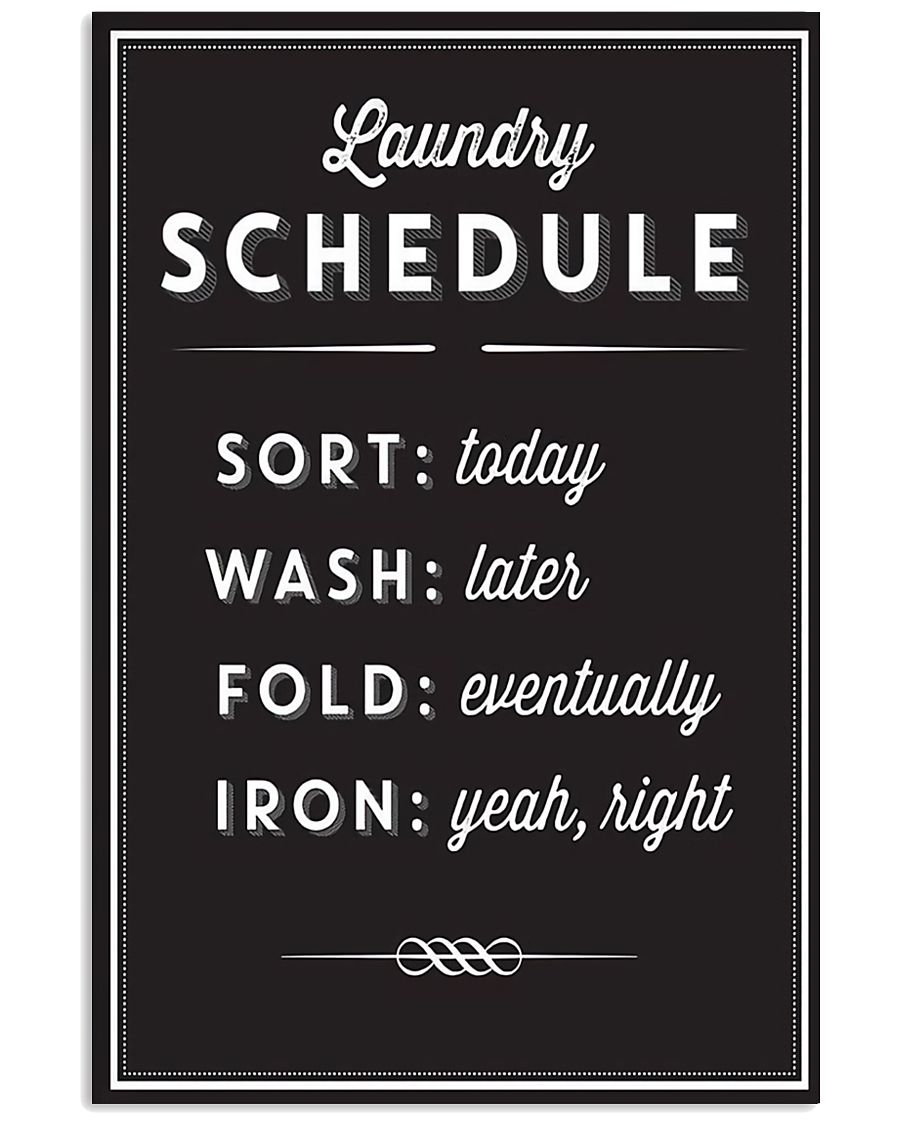 Laundry Room 11x17 Poster