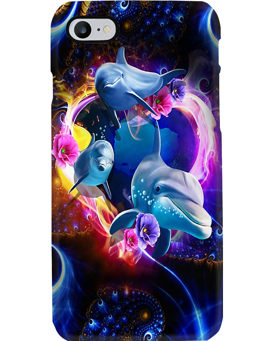 Spiral Dolphins Phone Case