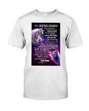 To My Wolf Daughter Classic T-Shirt thumbnail