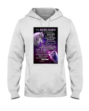To My Wolf Daughter Hooded Sweatshirt thumbnail