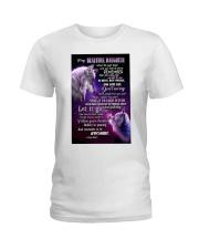 To My Wolf Daughter Ladies T-Shirt thumbnail