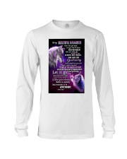 To My Wolf Daughter Long Sleeve Tee thumbnail