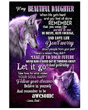 To My Wolf Daughter 11x17 Poster front