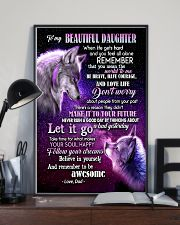 To My Wolf Daughter 11x17 Poster lifestyle-poster-2