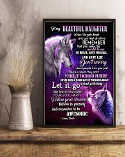 To My Wolf Daughter 11x17 Poster lifestyle-poster-3