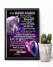 To My Wolf Daughter 11x17 Poster lifestyle-poster-8