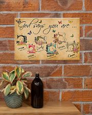 Sewing God Says You Are 17x11 Poster poster-landscape-17x11-lifestyle-23
