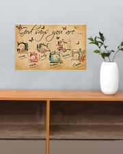 Sewing God Says You Are 17x11 Poster poster-landscape-17x11-lifestyle-24