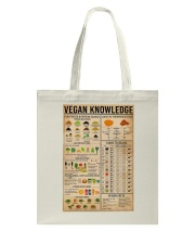 Vegan Knowledge Tote Bag thumbnail