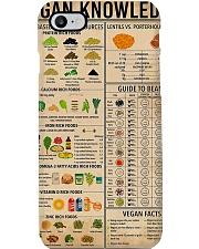 Vegan Knowledge Phone Case thumbnail