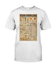 Vegan Knowledge Classic T-Shirt thumbnail
