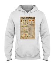 Vegan Knowledge Hooded Sweatshirt thumbnail