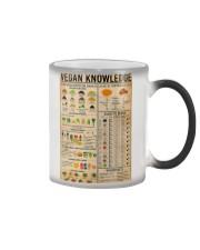 Vegan Knowledge Color Changing Mug thumbnail