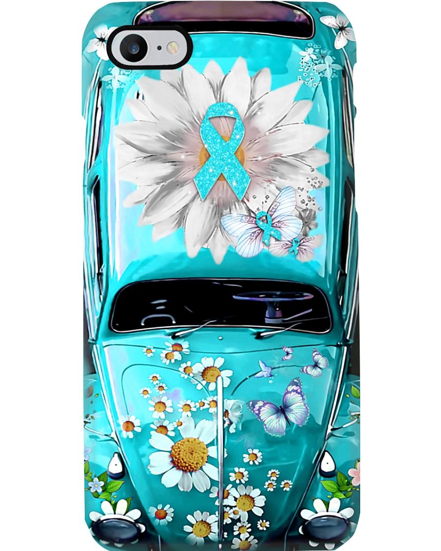Be Positive Vw Bug Phone Case