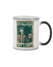 Your Butt Napkins My Lord Color Changing Mug thumbnail