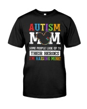 Autism Mom Classic T-Shirt front