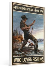 I Love Fishing 16x24 Gallery Wrapped Canvas Prints thumbnail