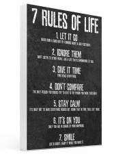 Rules of Life 16x24 Gallery Wrapped Canvas Prints thumbnail