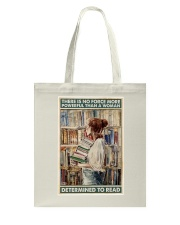 Powerful Queen Of Reading Tote Bag thumbnail