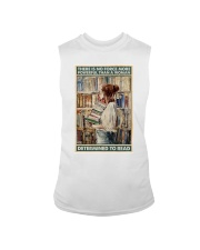 Powerful Queen Of Reading Sleeveless Tee thumbnail