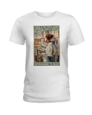 Powerful Queen Of Reading Ladies T-Shirt thumbnail