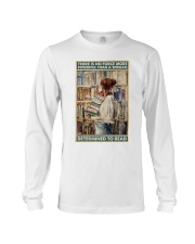 Powerful Queen Of Reading Long Sleeve Tee thumbnail