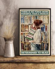 Powerful Queen Of Reading 11x17 Poster lifestyle-poster-3