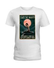 Mermaid At Night Ladies T-Shirt thumbnail
