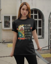 She's A Wild Child Classic T-Shirt apparel-classic-tshirt-lifestyle-19