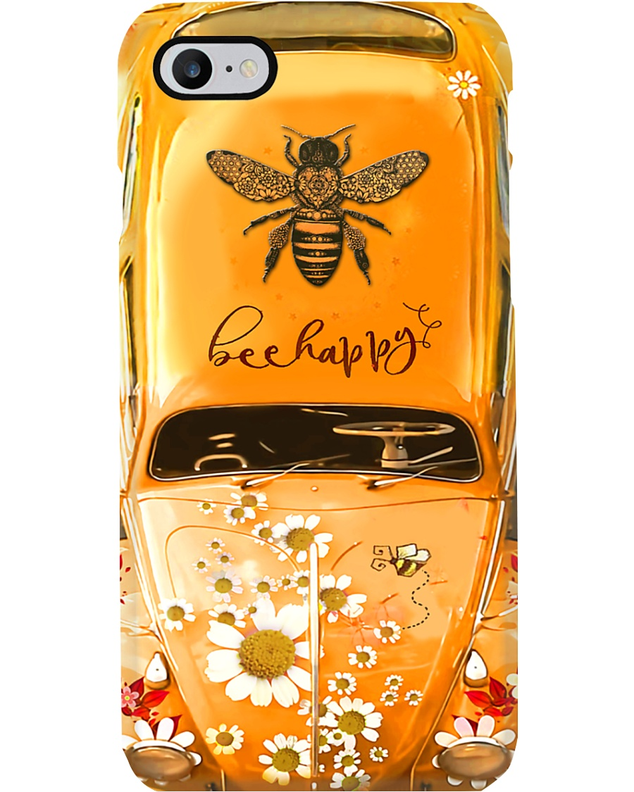 Bee Happy Vw Bug Phone Case