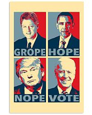 Grope Hope Nope Vote 11x17 Poster front