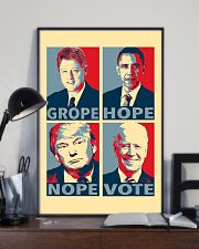 Grope Hope Nope Vote 11x17 Poster lifestyle-poster-2