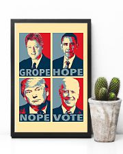 Grope Hope Nope Vote 11x17 Poster lifestyle-poster-8