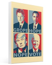 Grope Hope Nope Vote 16x24 Gallery Wrapped Canvas Prints thumbnail